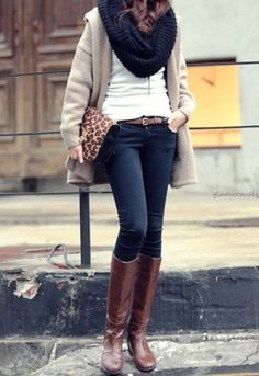 Winter, scarf, Sweater,