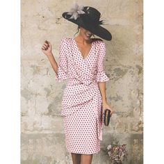 Mother Of Bride Outfits, Mother Of Groom Dresses, Dot Dress, Pink Dress, Summer Wedding Outfits, Petal Sleeve, Fashion For Petite Women, Bodycon Dress With Sleeves, Dress Silhouette