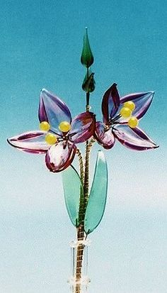 43 Best Glass Flowers Images Glass Flowers Flowers Glass