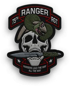 2nd Batalion/75th Rangers Ghost Platoon (MilSim) Patch