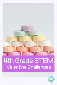 Need Valentines STEM activities for 4th grade? These Valentines Day STEM activities are jus the solution and fourth graders are sure to love them!