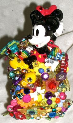 Mickey and Minnie deco den decoden  Kawaii cuff by SecretSparkle, $175.00. I am in love with this!