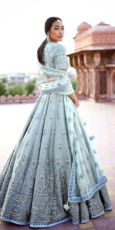 Good Free of Charge Indian Wedding Dresses: 21 Exciting Fusion Ideas Popular Beautiful Wedding Dresses ! The present wedding dresses 2019 includes twelve different dresses in th Indian Lehenga, Blue Lehenga, Sabyasachi Lehenga Bridal, Floral Lehenga, Indian Saris, Bollywood Lehenga, Red Indian, Lehenga Style, Indian Wear