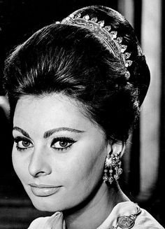 "goldenageestate: ""Sophia Loren ~ The Fall of The Roman Empire, 1964 """