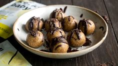 Step Up Your Snacking Game With This Salted Chocolate Protein Balls Recipe