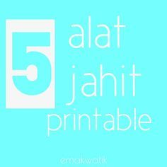 5 Alat Jahit Gratis yang bisa kamu print sendiri - emakwatik