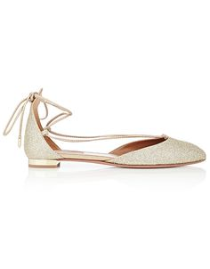 14 Most Comfortable Wedding Shoes to Buy Right Now - Aquazzura from InStyle.com