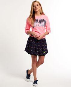 Superdry Meadow Print Skirt