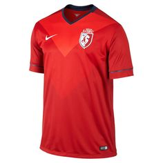 Lille OSC Nike Home Stadium Jersey - Red - $44.99