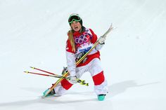 Justine Dufour-Lapointe Photos: Freestyle Skiing - Winter Olympics Day 1