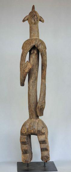 "Grande statue Mumuye 120cm Nigeria large sculpture 47"" | eBay"