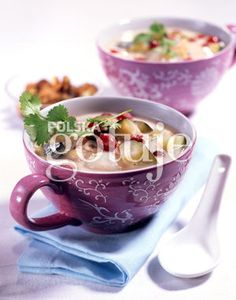 Coconut & cramberry soup