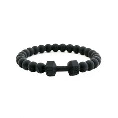 Silicone version of the FITLIFE™ Dumbbell Bracelet to wear in the toughest conditions. Take it to workout, on a hike, a bike ride, karate class, sky is the limit and don't worry about it breaking!