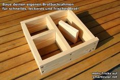 Perfektes Brot backen mit dem selbst gemachten Backrahmen - smarticular.net