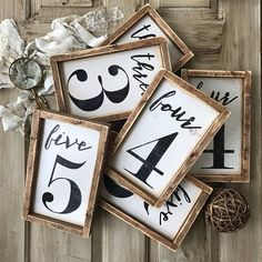 ON SALE Family Number Family Number Sign Family Sign