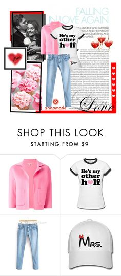 """snapmade valentine`s day contest entry"" by gabygirafe ❤ liked on Polyvore featuring P.A.R.O.S.H., women's clothing, women, female, woman, misses and juniors"