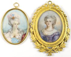 19th century portraits of Marie Antionette