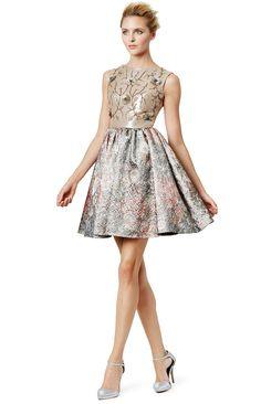 Marchesa Notte Bold Baroque Dress    | @kimludcom
