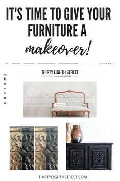 Inexpensive Home Decor Ideas! Update your furniture with these amazing painting techniques. Painting Furniture Tips. Home Decor. Furniture Logo, Diy Furniture Projects, Classic Furniture, Cool Diy Projects, Repurposed Furniture, Quality Furniture, Furniture Makeover, Furniture Design, Furniture Depot