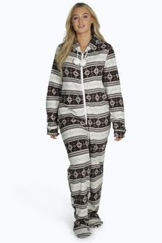 #PlusSize #Womens Hooded #Onesie  Stay cosy this season with a onesie