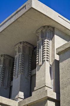 Frank Lloyd Wright - Unity Temple.  Art Experience NYC  www.artexperiencenyc.com/social_login/?utm_source=pinterest_medium=pins_content=pinterest_pins_campaign=pinterest_initial