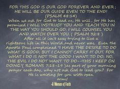 GOD will lead