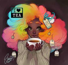 Stevonnie Meme by Sadyna on DeviantArt Black Love Art, Black Girl Art, Black Girls, Cartoon Kunst, Cartoon Art, Pretty Art, Cute Art, Arte Black, Black Girl Cartoon