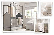 Neutral Baby Rooms | Restoration Hardware Baby & Child - White, Cream and Grey