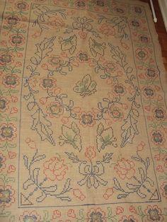 Borboletas e Flores - Tapeçaria Arraiolo