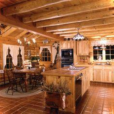 Gorgeous 45 Gorgeous Cottage Kitchen Small Log Cabin Ideas https://roomaholic.com/1271/45-gorgeous-cottage-kitchen-small-log-cabin-ideas