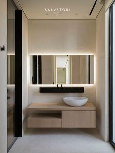 Super ideas for modern bathroom brown interior design Contemporary Interior Design, Contemporary Bedroom, Bathroom Interior Design, Contemporary Cottage, Contemporary Apartment, Contemporary Wallpaper, Contemporary Chandelier, Contemporary Office, Interior Door