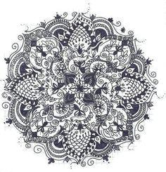 coloriage-adulte-realise-45 #mandala #coloriage #adulte via dessin2mandala.com