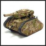 Warhammer 40K – Leman Russ Tank Free Paper Model