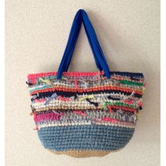 裂き編みバッグ  ジュエ