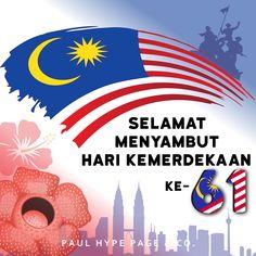 Malaysia celebrates its independence day on 31 August every year with fireworks and Merdeka songs playing on the air. So, we take this opportunity to wish 'Selamat Menyambut Hari Kemerdekaan yang ke-61'.  Merdeka! Merdeka! Merdeka!