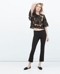 LACE TOP-Woman-NEW THIS WEEK | ZARA United States