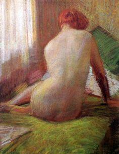 Naked Back Arturo Noci (1874 – 1953, Italian)