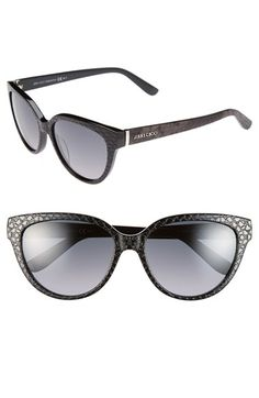 5544d7679e Jimmy Choo  Odette  56mm Cat Eye Sunglasses Ray Ban Sunglasses