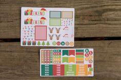 Christmas planner sticker sampler #bellarosepaperco