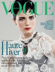 Vogue Holanda Noviembre 2012: Anna de Rijk en Dolce & Gabbana y Lanvin, by Marc de Groot