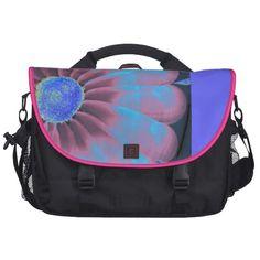 Blue Flora Commuter Bag