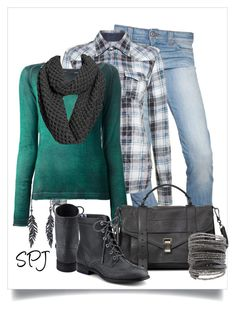 """""""Phoenix Plaid"""" by s-p-j ❤ liked on Polyvore"""