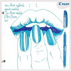 Jedna z mnohých výhod pier #Pilot #happywriting