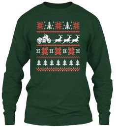 Reindeer Ugly Sweater Motorcycles | Teespring