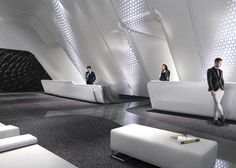 Zaha Hadid's interiors for One Thousand Museum in Miami