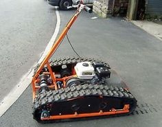 Personal Tracked Vehicle, Tracked Go-kart. Plans To Build Your Own