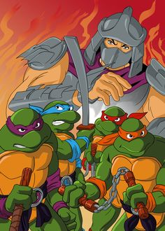 TMNT recolor by Isdailic on DeviantArt