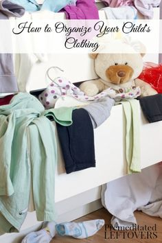 Drowning in kids clothes? Check out these tips to cut down on the chaos.