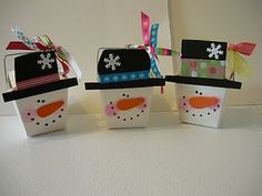 snowman takeout container