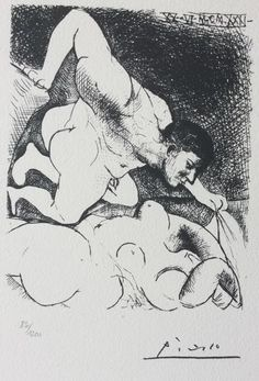 Catawiki online auction house: Pablo Picasso (after) - Suite Vollard , PLanche V